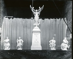 Models for a Monument [sculpture] / (photographed by Peter A. Juley & Son)