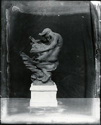 Seated Figure [sculpture] / (photographed by Peter A. Juley & Son)