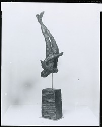 Falling Figure [sculpture] / (photographed by Peter A. Juley & Son)