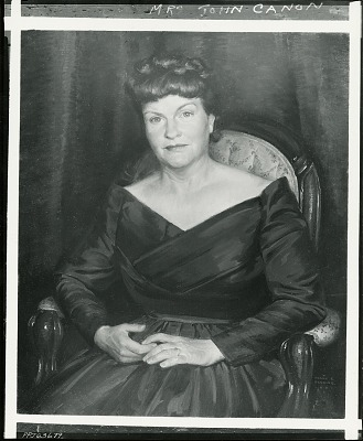 Mrs. John Cannon [painting] / (photographed by Peter A. Juley & Son)