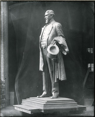 Thomas Lowey (model for memorial, Minneapolis, Minnesota) [sculpture] / (photographed by Peter A. Juley & Son)