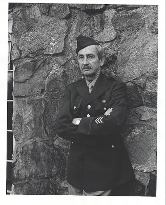 George Biddle in military uniform [photograph] / (photographed by Peter A. Juley & Son)