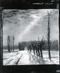 Winter Nocturne [painting] / (photographed by Peter A. Juley & Son)