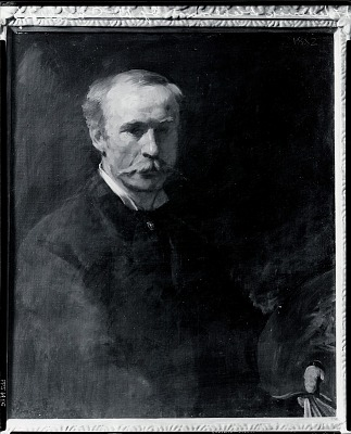 Frederick Dielman [painting] / (photographed by Peter A. Juley & Son)