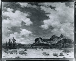 Superstition Mountain [painting] / (photographed by Peter A. Juley & Son)