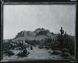 Western Landscape [painting] / (photographed by Peter A. Juley & Son)