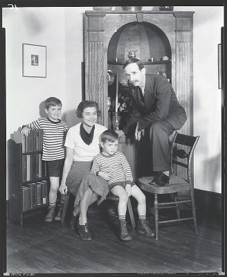 Sidney E. Dickinson with his family [photograph] / (photographed by Peter A. Juley & Son)