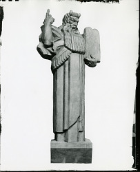 Moses [art work] / (photographed by Peter A. Juley & Son)