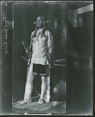 Pyote Chief [painting] / (photographed by Peter A. Juley & Son)