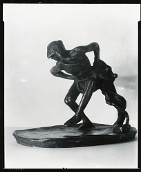 The Scalp Dancer [sculpture] / (photographed by Peter A. Juley & Son)