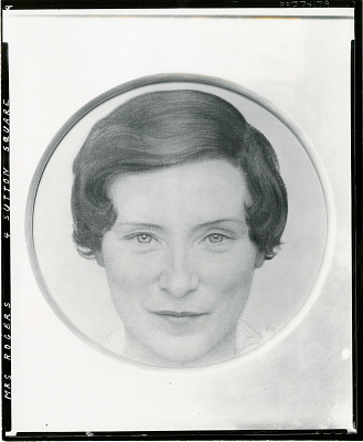 Mrs. Henry Huttleston Rogers, Jr. (Mary Benjamin) [painting] / (photographed by Peter A. Juley & Son)