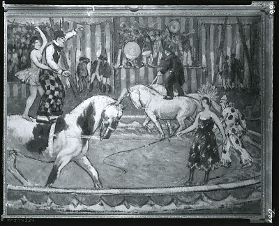 Circus [painting] / (photographed by Peter A. Juley & Son)