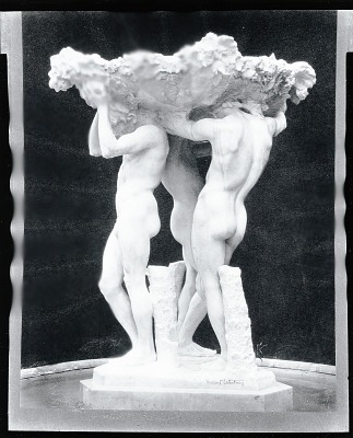 Fountain [sculpture] / (photographed by Peter A. Juley & Son)