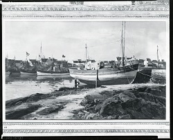 Guilvinec Harbor, Brittany [painting] / (photographed by Peter A. Juley & Son)