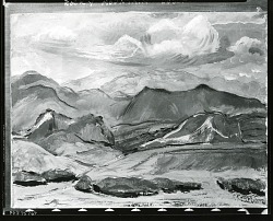 Rocky Mountain Landscape [painting] / (photographed by Peter A. Juley & Son)