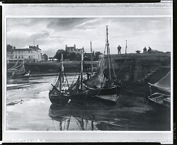 Honfleur [painting] / (photographed by Peter A. Juley & Son)