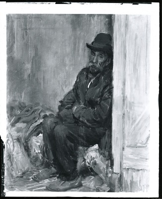 Little Old Mexican [painting] / (photographed by Peter A. Juley & Son)