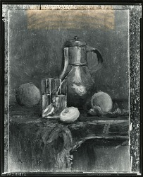 Still Life with Peaches [painting] / (photographed by Peter A. Juley & Son)