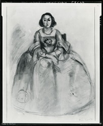 Venetian Dress [drawing] / (photographed by Peter A. Juley & Son)