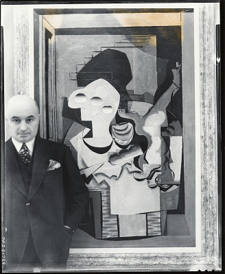 Raoul Dufy (?) [photograph] / (photographed by Peter A. Juley & Son)