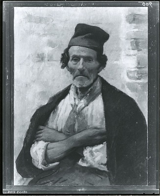Chioggio Fisherman [painting] / (photographed by Peter A. Juley & Son)