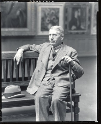 Louis Kronberg [photograph] / (photographed by Peter A. Juley & Son)