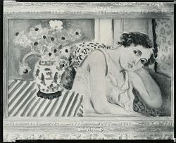 Figure in an Interior [painting] / (photographed by Peter A. Juley & Son)