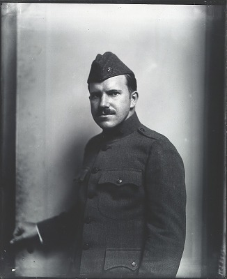 Paul Manship in Red Cross uniform [photograph] / (photographed by Peter A. Juley & Son)