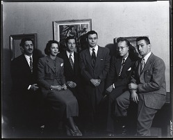 Art Students League instructors [photograph] / (photographed by Peter A. Juley & Son)