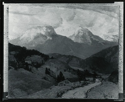 Bavarian Alps [painting] / (photographed by Peter A. Juley & Son)