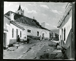 Old French Church [art work] / (photographed by Peter A. Juley & Son)