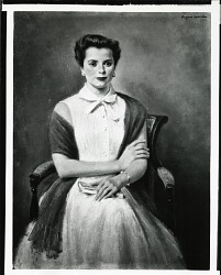 Mrs. James McGuire [art work] / (photographed by Peter A. Juley & Son)