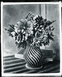 Dahlias [art work] / (photographed by Peter A. Juley & Son)