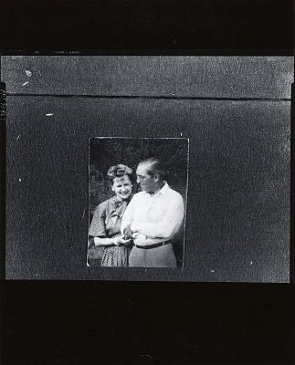 Eugene Speicher with his wife [photograph] / (photographed by Peter A. Juley & Son)