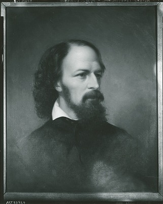 Alfred Tennyson (1809-1892), 1st Baron Tennyson [painting] / (photographed by Peter A. Juley & Son)