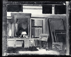 Studio Interior [painting] / (photographed by Peter A. Juley & Son)