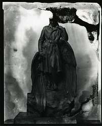 Winged Figure, [sculpture] / (photographed by Peter A. Juley & Son)