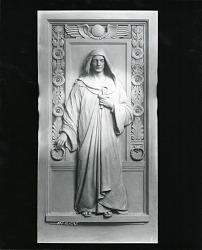 Collis P. Huntington Mausoleum Door [sculpture] / (photographed by Peter A. Juley & Son)