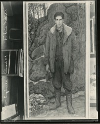 The Woodsman [painting] / (photographed by Peter A. Juley & Son)
