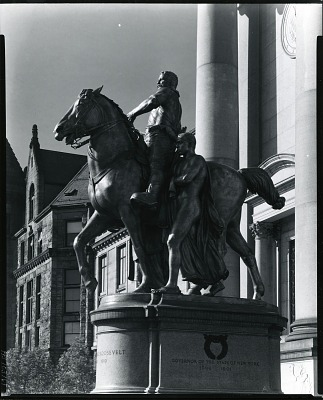 Theodore Roosevelt Memorial [sculpture] / (photographed by Peter A. Juley & Son)