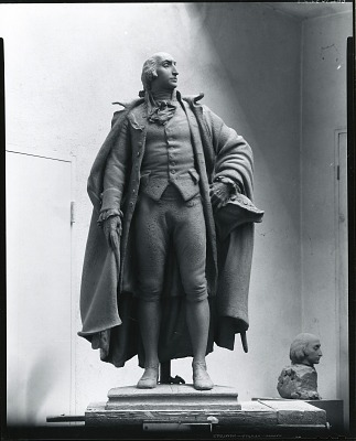 Albert Gallatin [sculpture] / (photographed by Peter A. Juley & Son)