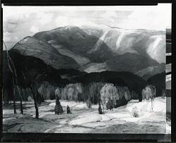 Mountain Landscape [painting] / (photographed by Peter A. Juley & Son)