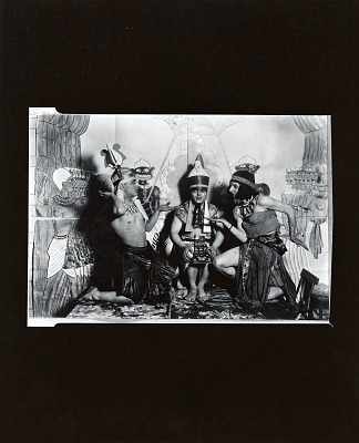 Art Students League students in costume [photograph] / (photographed by Peter A. Juley & Son)