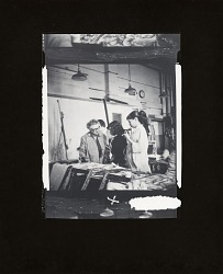 Ethel Katz teaching at the Art Students League, New York [photograph] / (photographed by Peter A. Juley & Son)