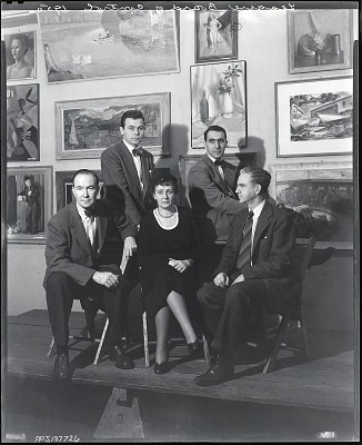 Art Students League Board of Control [photograph] / (photographed by Peter A. Juley & Son)