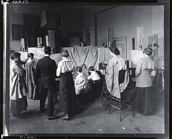 Art Students League women's life class [photograph] / (photographed by Peter A. Juley & Son)