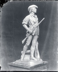The Concord Minute Man of 1775 [sculpture] / (photographed by Peter A. Juley & Son)