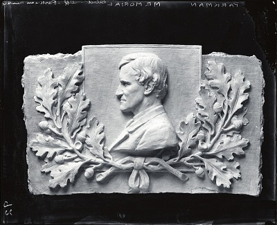 Model for the Francis Parkman Memorial [sculpture] / (photographed by A. B. Bogart)