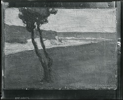 Normandie Coast [painting] / (photographed by Peter A. Juley & Son)