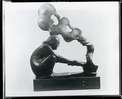 Noon [sculpture] / (photographed by Peter A. Juley & Son)
